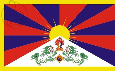 Bandera Tibet