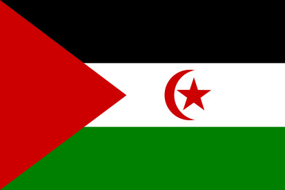 Bandera République arabe sahraouie démocratique