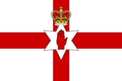 Bandera Irlanda del Norte
