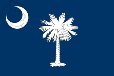 Bandera Caroline du Sud