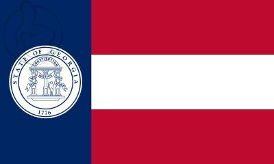 Bandera Georgia 1920 - 1956