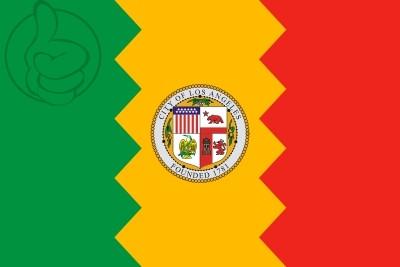 Bandera Los Ángeles