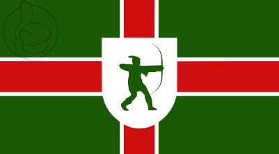 Bandera Nottinghamshire