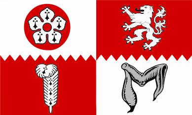 Bandera Leicestershire