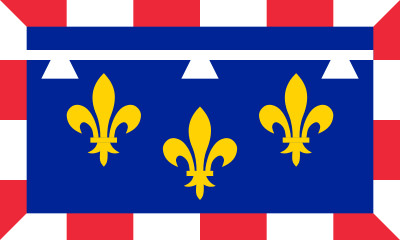 Bandera Centro Val de Loira