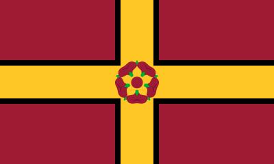 Bandera Northamptonshire