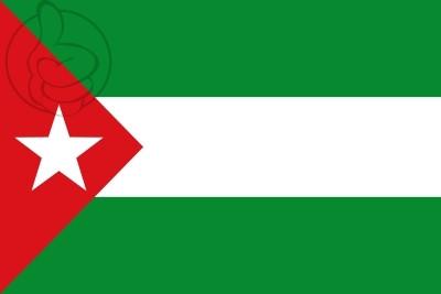 Bandera Andalousie Nationaliste