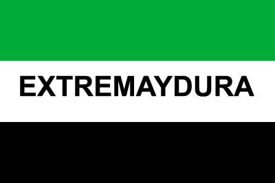 Bandera Extremaydura Personalizada