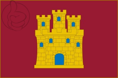 Bandera Royaume de Castille