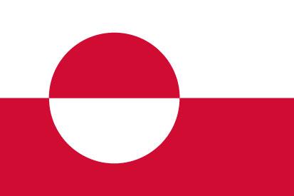 Bandera Groenlandia