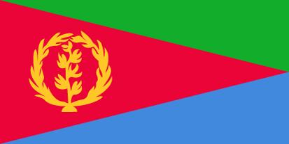 Bandera Érythrée