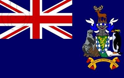 Bandera Islas Georgias del Sur y Sandwich del Sur