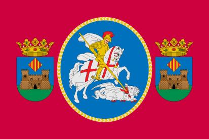 Bandera Banyeres de Mariola