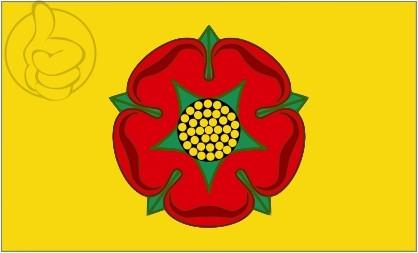 Bandera Lancashire
