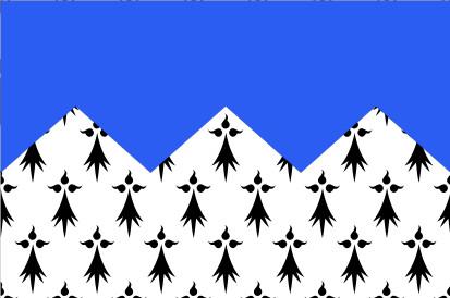 Bandera Côtes-d'Armor