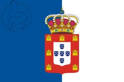 Bandera Royaume du Portugal (1139-1910)