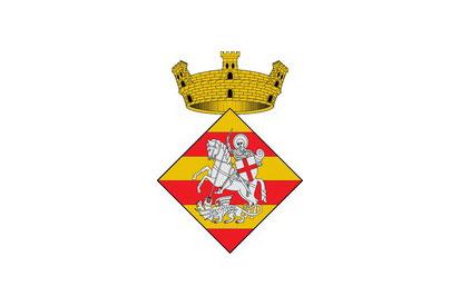 Bandera Sant Jordi Desvalls