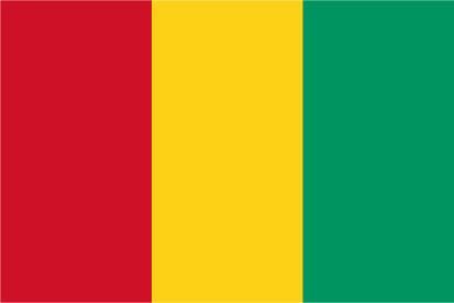 Bandera Guinée