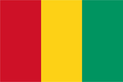 Bandera Guinea