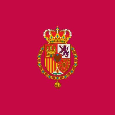 Bandera Estandarte del rey de España