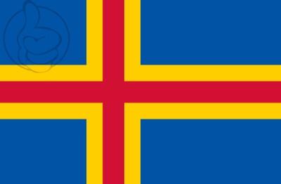 Bandera Islas de Alandia (Aland)