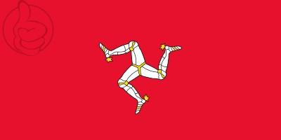 Bandera Isla de Man