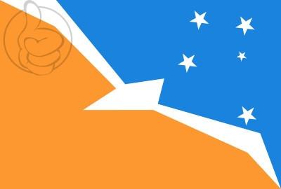Bandera Tierra del Fuego, Antártida e Islas del Atlántico Sur