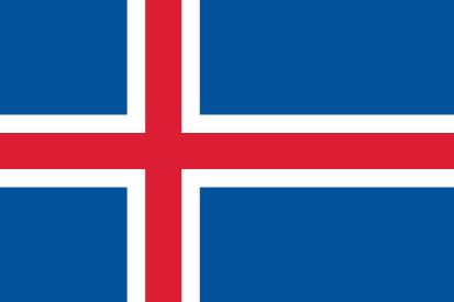 Bandera Iceland