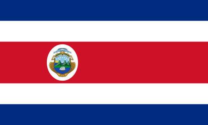 Bandera Costa Rica C/E