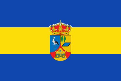 Bandera Martín Muñoz de la Dehesa