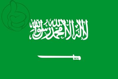 Bandera Saudi Arabia
