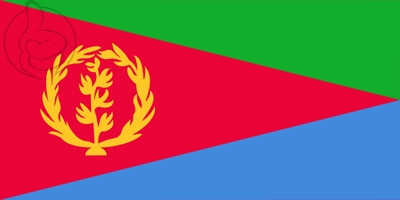 Bandera Eritrea