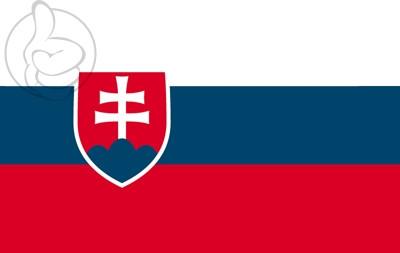 Bandera Slovaquie