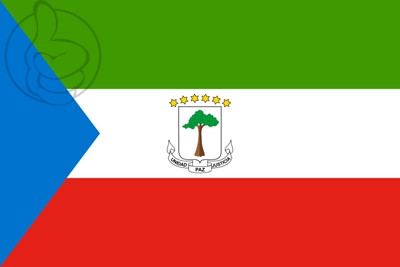 Bandera Guinée équatoriale