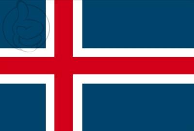 Bandera Islândia
