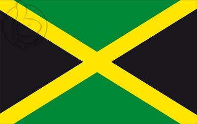 Bandera Jamaïque