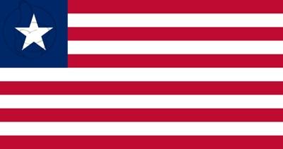 Bandera Libéria