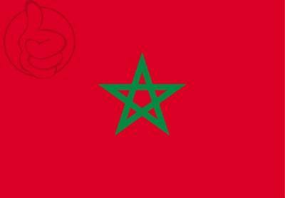 Bandera Marrocos