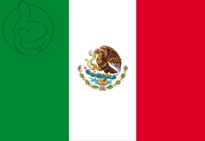 Bandera Mexique