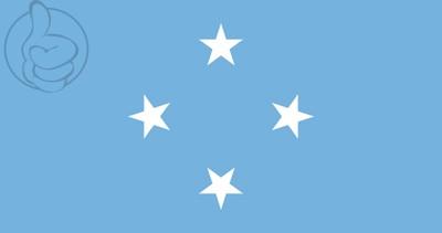 Bandera Micronésie
