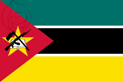 Bandera Moçambique