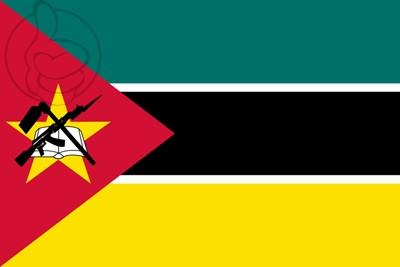 Bandera Mozambique