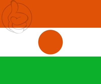Bandera Níger