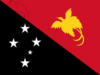 Bandera Papúa Nueva Guinea