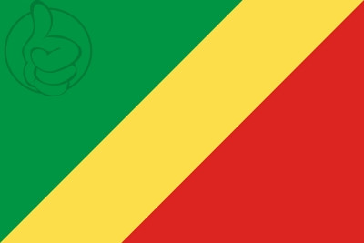 Bandera Republic of Congo