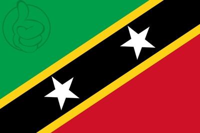 Bandera Saint-Kitts-et-Nevis