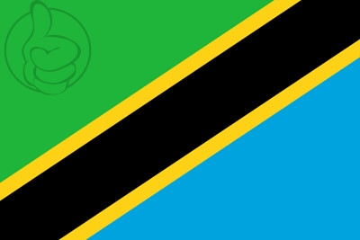 Bandera Tanzânia