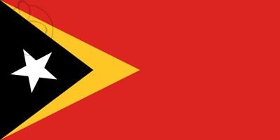 Bandera Timor Oriental