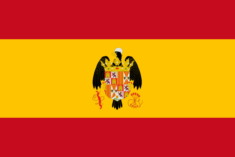 Flag of Spain Escudo Reyes Catolicos