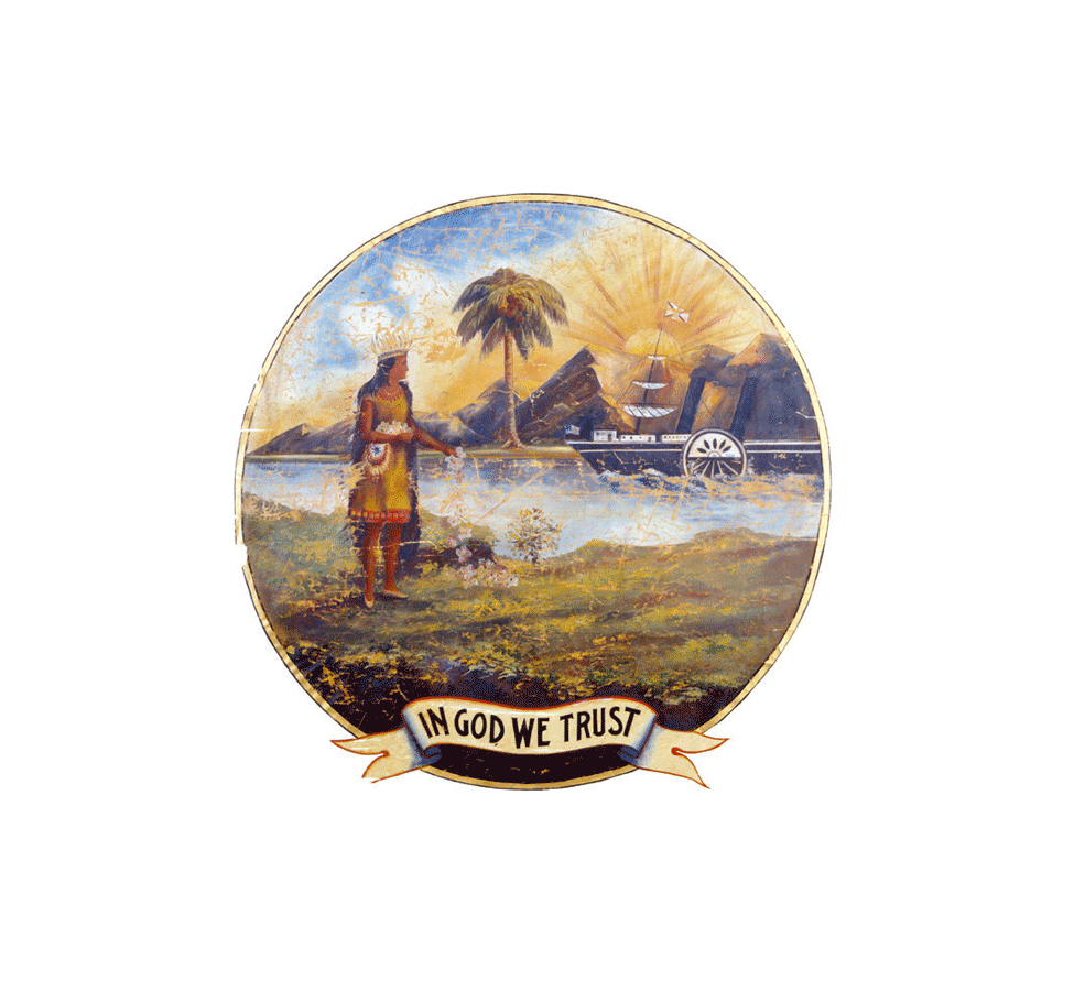 Bandera de Florida 1868